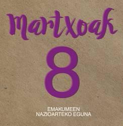 Martxoaren 8ko kartel lehiaketa martxan