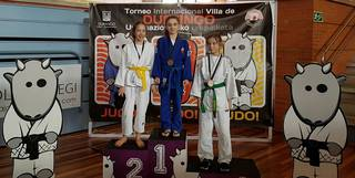 Ainhoa Alonsok urrezko domina irabazi du Durangoko judo txapelketan