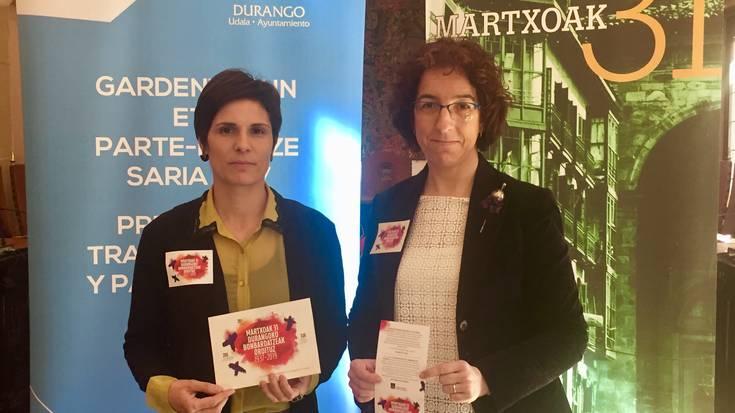 Maria Ardanza durangarrak egingo du martxoaren 31ko ekitaldiko lore eskaintza