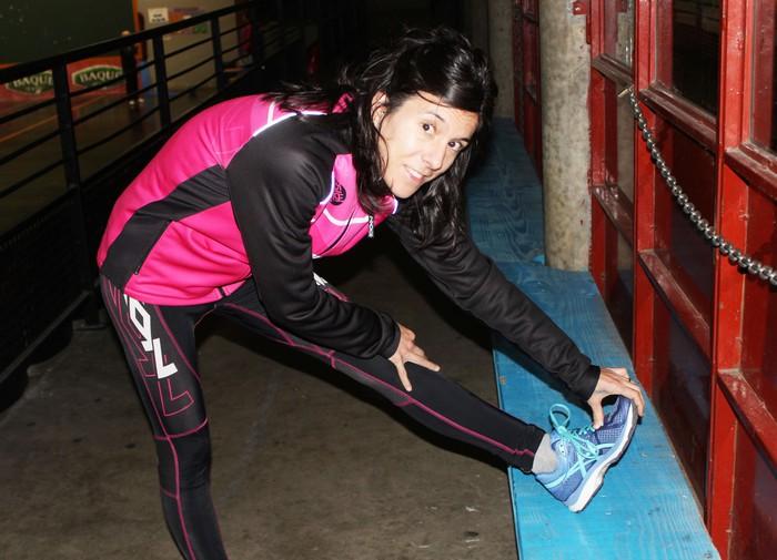 Iraia Garcia munduko azpitxapeldun oztopo lasterketan