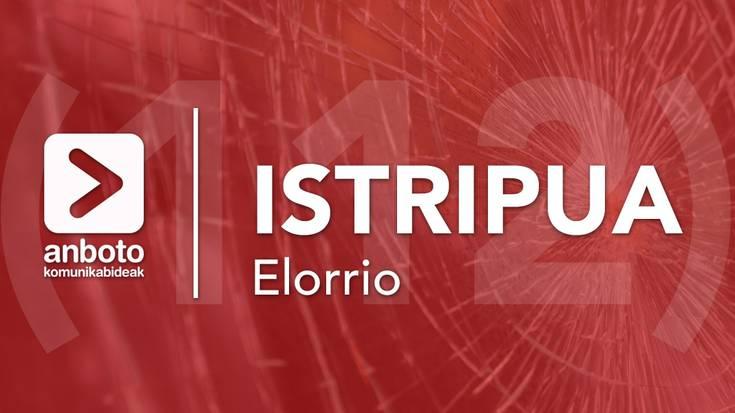 Istripu larria egon da Elorrioko herrigunean