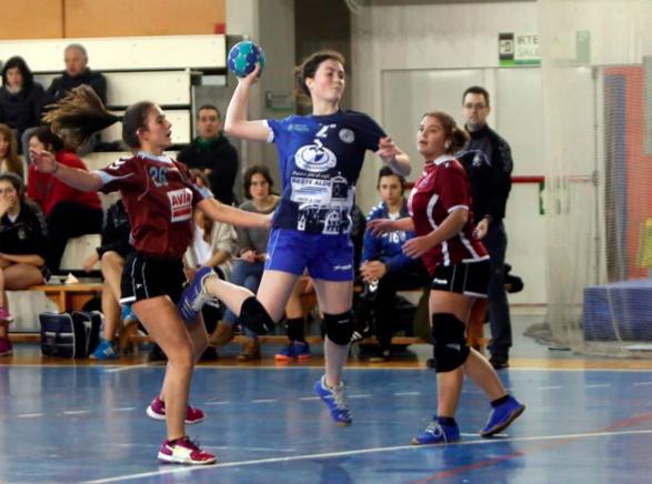 Ibaizabal Euskadi mailako ligan finkatu da eskubaloian
