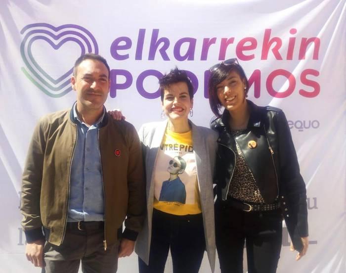 Elkarrekin Podemos Amorebieta koalizioa sortu dute datozen udal hauteskundeetarako