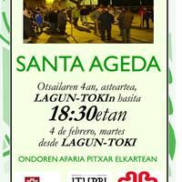Santa Ageda koplak