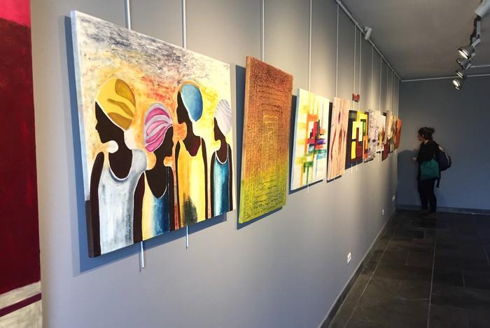 Elorrioko artisten lanak ikusgai daude Iturrin