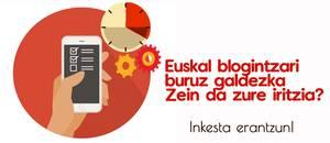 Euskal blogintzaren harira