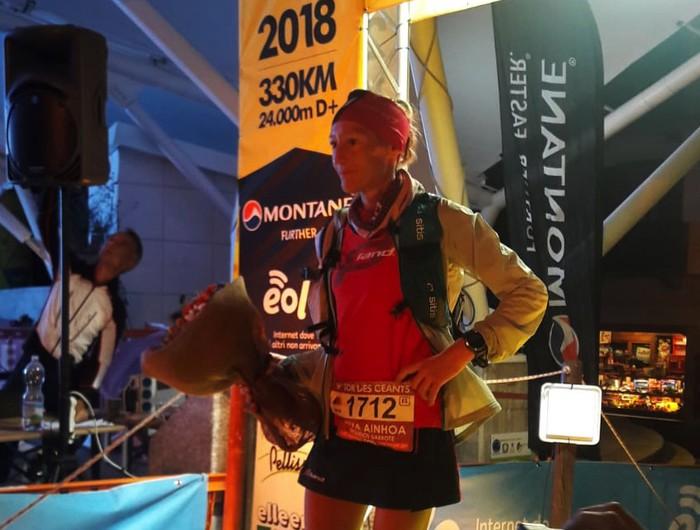 Silvia Triguerosen beste balentria bat: Tor des Geants 330 kilometroko proba irabazi du