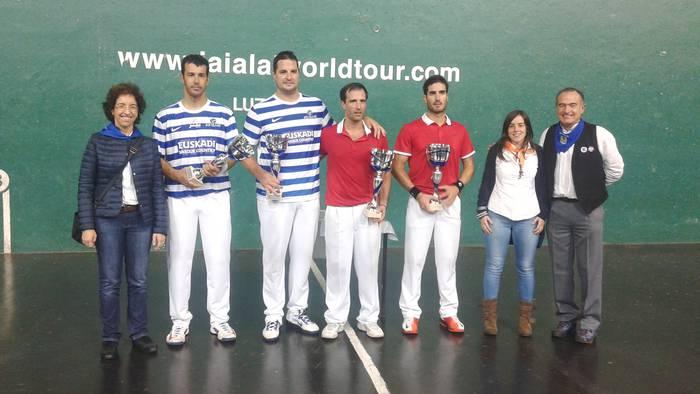 Egigurenek eta Inzak irabazi dute Durangoko zesta txapelketa profesionala