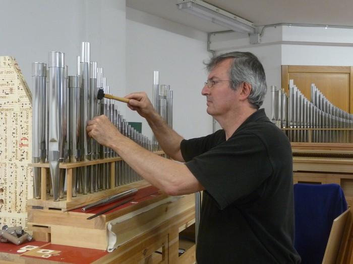 Euskal Herrian eginiko bi organoren aurkezpena eta kontzertua Otxandion