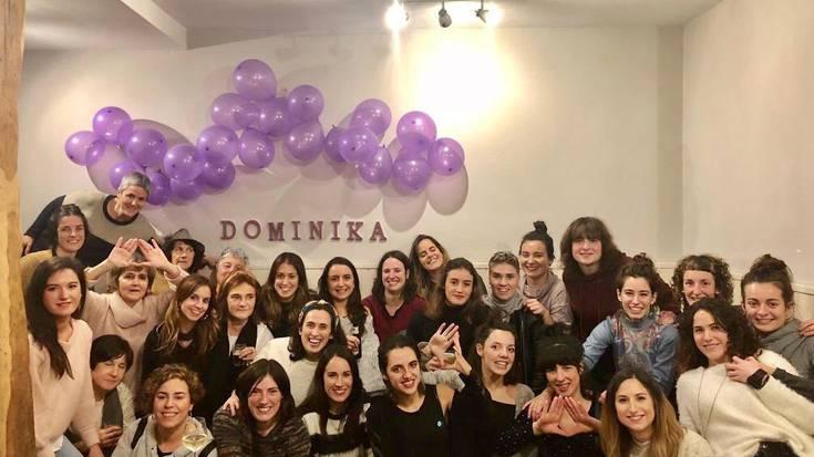 Andaluziako herriari elkartasuna erakusteko elkarretaratzera deitu du Dominika Zaldibarko talde feministak