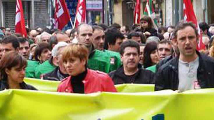 San Eloyko borroka, langileen eguneko manifestazioan protagonista
