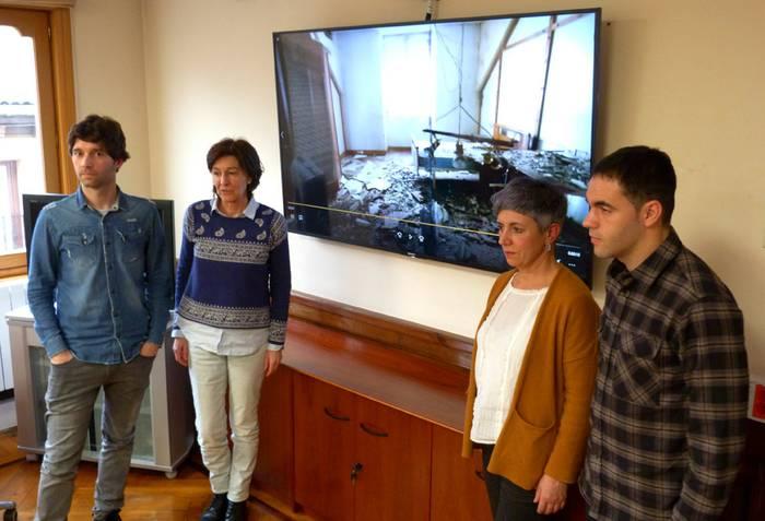 Durangoko eraikin publiko hutsen egoera salatu, eta herriko beharrizanetarako berritzea proposatu du EH Bilduk