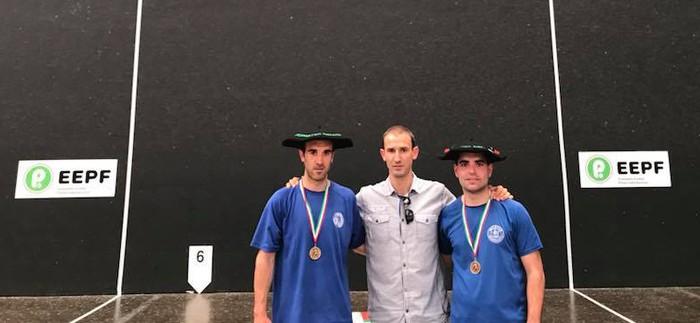 One Wall modalitatean Bizkaiko eta Gipuzkoako torneoak irabazi ditu Egoitz Amantegik