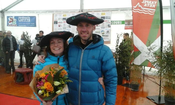 Oihana Azkorbebeitiak eta Oier Ariznabarretak Sara Korrika Trail mendi lasterketa irabazi dute