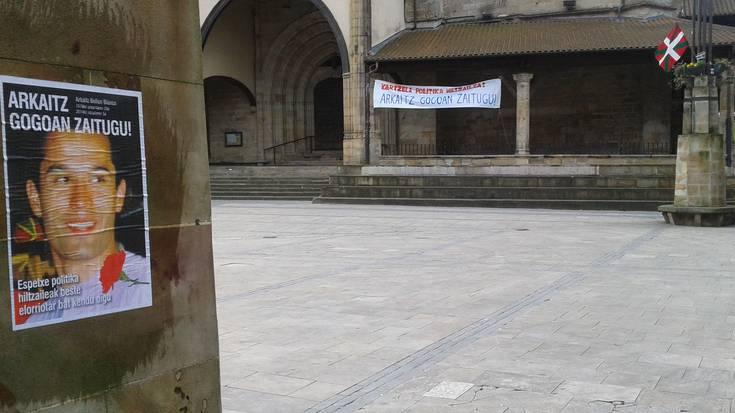 'Dolu Eguna' deitu dute gaurko Elorrion, Bellonen heriotza salatzeko