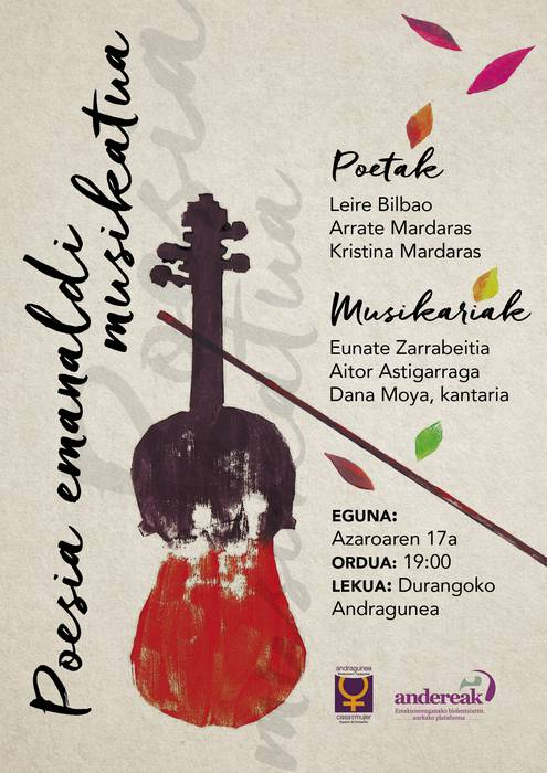 Poesia emanaldi musikatua