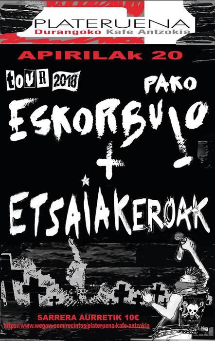 Paco Eskorbuto eta Etsaiak Eroak