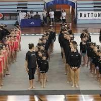 600 gimnasta gaztek Durangoko kiroldegia beteko dute zapatuan