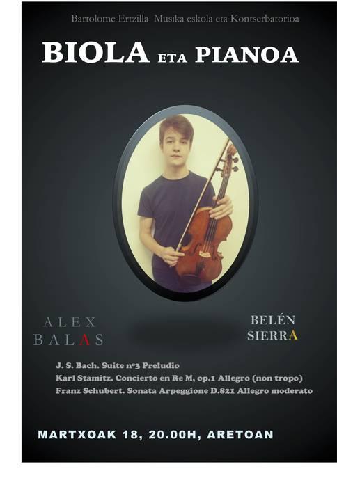Alex Balas eta Belen Sierra