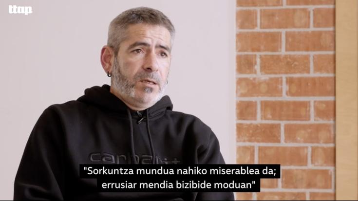 Unai Iturriaga bertsolaria Ttap aldizkari multimedian elkarrizketatu dute