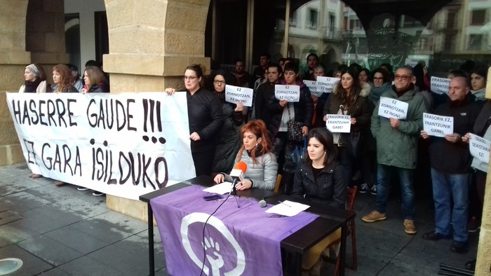 Eraso sexisten aurka mobilizatuko dira gaur Zornotzan