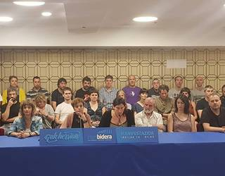 Lopez de Lacalle eta beste 46 auziperatuei babesa erakusteko manifestazio bat iragarri dute irailaren 14rako