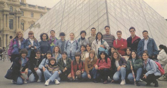 Institututik Parisera egindako bidaiak