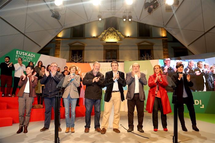 "Ortuzar: ""Domekan, Euskadi da jokoan dagoena"""