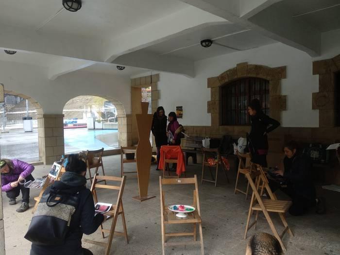 Aldarrikapen feministak data seinalatuetan Atxondon