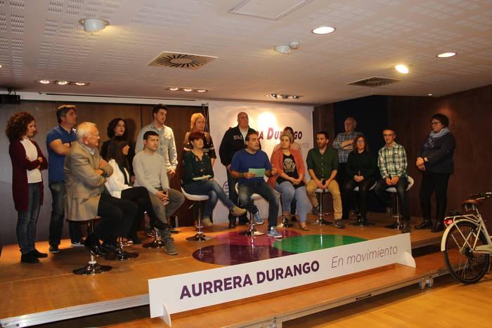 Elkarrekin Podemosek hauteskunde ekitaldia egingo du Durangon