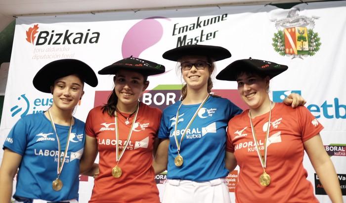 Arrizabalagak eta Etxanizek irabazi dute Master Cup txapelketa