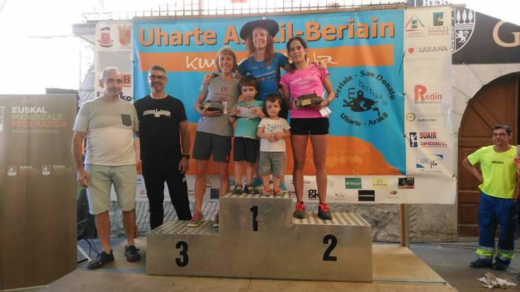 Oihana Azkorbebeitia Kilometro Bertikalen Euskal Herriko txapeldun