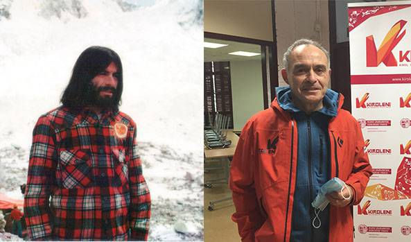 Euskaldunek gaur 40 urte konkistatu zuten Everest eta Durangon bizi den Kike de Pablo espedizio hartako partaidea izan zen
