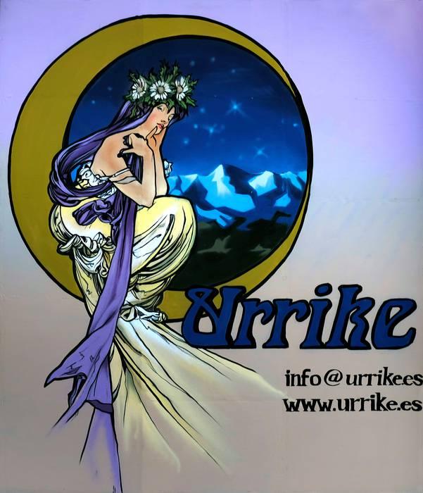 URRIKE LIBURUDENDA logotipoa