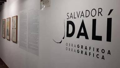 'Salvador Dalí. Obra grafikoa'