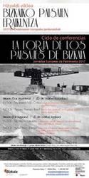 Hitzaldi-zikloa: Bizkaiko paisaien eraikuntza