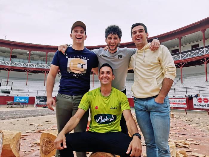 Ioritz eta Jon Gisasola lehenengo postuan sailkatu dira Euskadiko pentatloi txapelketako finalerako