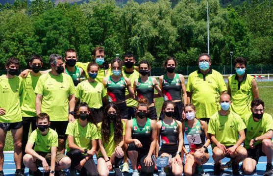 Araitz Villa, Ainhoa Colino, Julen Pedraza, Aitor Sandino eta Bitor Delgadok dominak irabazi dituzte Euskadiko Atletismo Txapelketan
