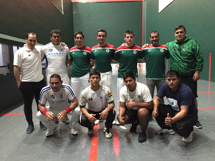 Peru, Bolivia, Mexiko, Txile eta Uruguayko pilotariek Abadiñoko trinketean jokatuko dute