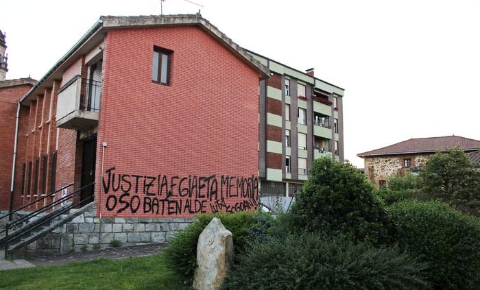 Luzia Urigoitiagaz gertatutakoa gogoratuko du mural berri batek Otxandion