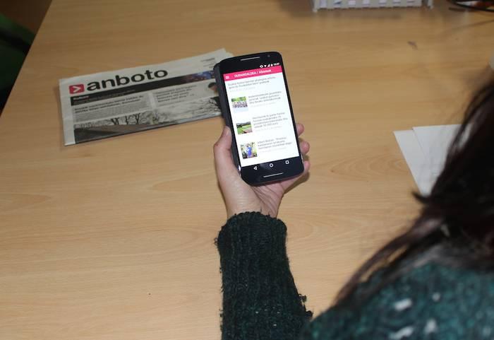 'anboto.org' atariaren aplikazioa mugikorretan eskuragai dago
