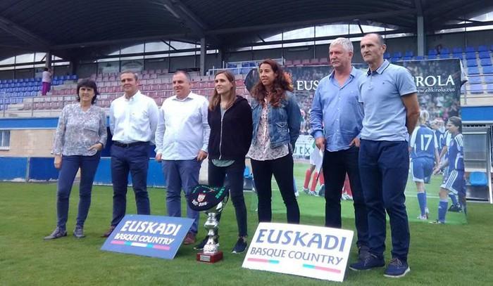 Athleticek edo Realak Zornotzako Urritxe zelaian jasoko dute Euskal Herria Kopako garaikurra
