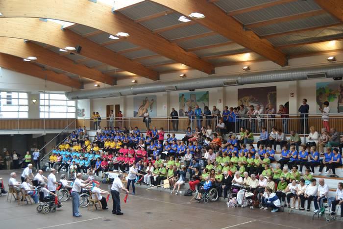Nagusien gimnasia topaketa egingo dute Zaldibarren