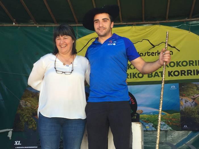 Joseba Baseta atxondarrak irabazi du Bizkaiko Gazta Txapelketa