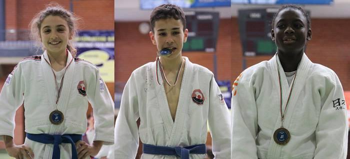 Aitor de la Torre, Ainhoa Alonso eta Deniba Konare Euskadiko txapeldun geratu dira judoan