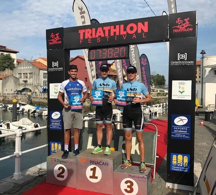 Llaneseko triatloia irabazi du Gorka Bizkarrak