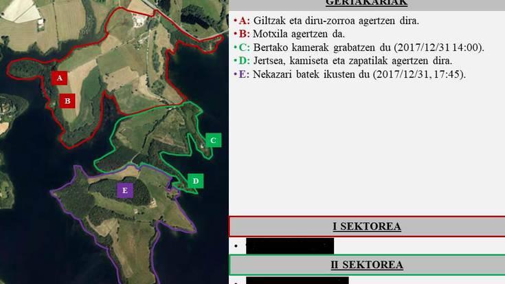 Jon Barcenaren arropak agertu ziren tokitik 150 bat metrora aurkitu dute boluntarioek gorpua