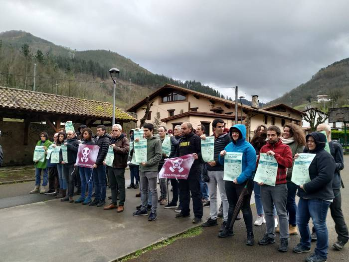 CCOO sindikatuak bat egin du Zaldibar Argituk deitutako mobilizazioekin