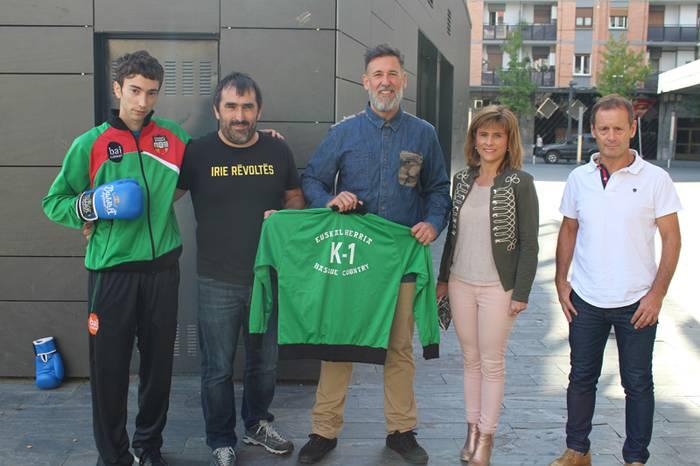 Euskal Herria selekzioak lehenengoz parte hartuko du K-1 espezialitateko munduko txapelketan