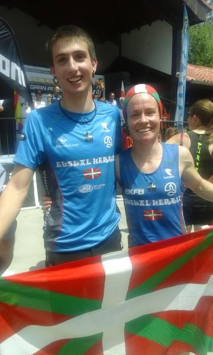 Oihana Azkorbebeitiak kilometro bertikalen Espainiako Txapelketa irabazi du